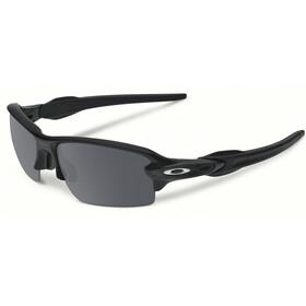 Oakley Flak 2.0 Sunglasses Unisex Matte Black/Black Iridium